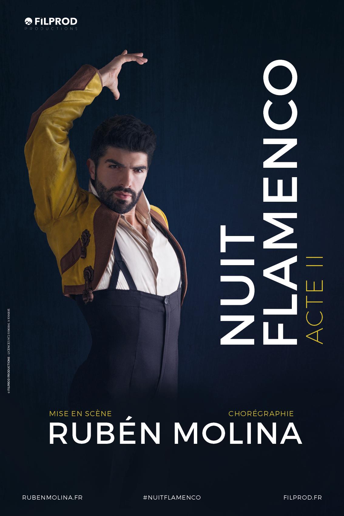 Affiche BD Nuit Flamenco Acte II