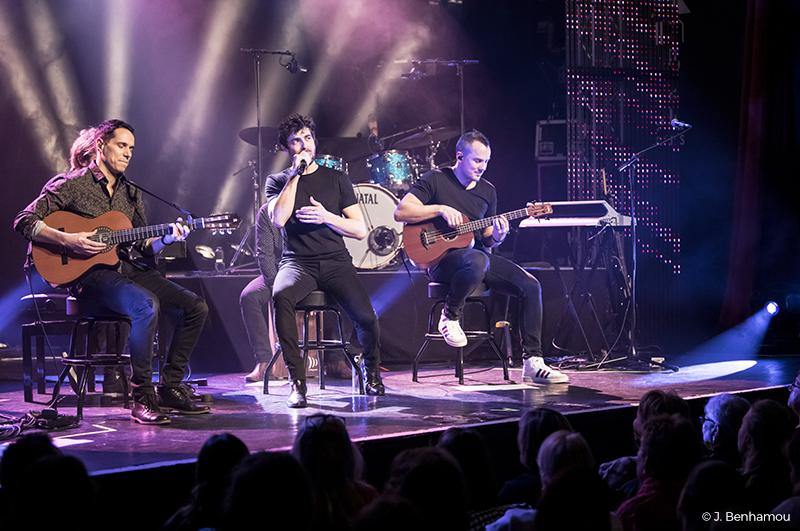 Agustin Galiana en tournée de concert