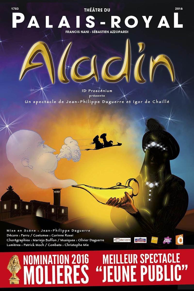 Affiche Aladin - En tournée 2019/2020