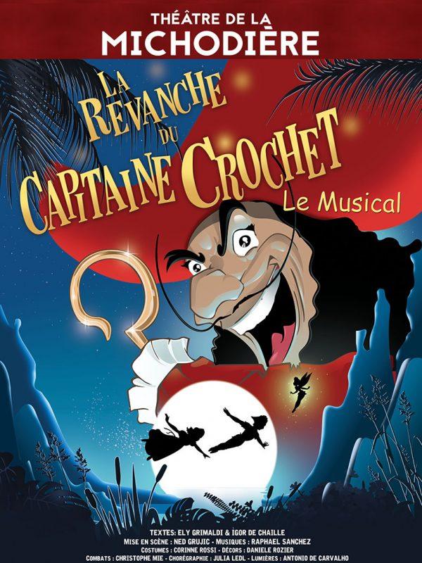 Affiche La Revanche du Capitaine Crochet - En tournée 2019/2020