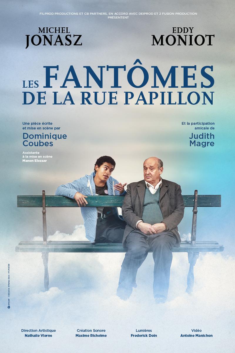 Affiche Fantomes Tournee BD