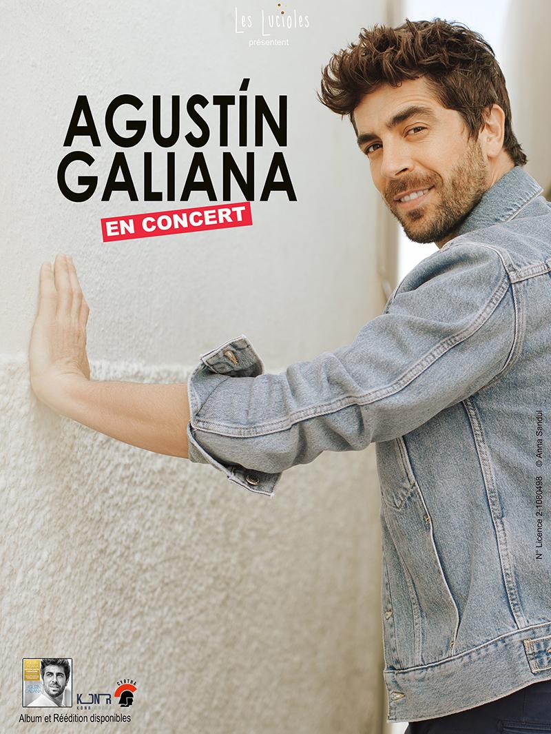 Affiche_Agustin Galiana en concert