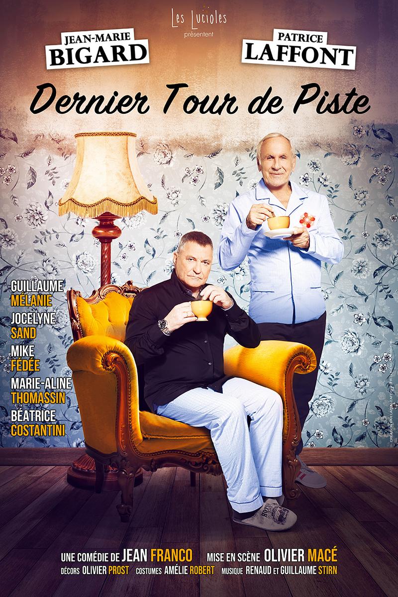 Dernier tour de piste avec Jean-Marie Bigard et Patrice Laffont