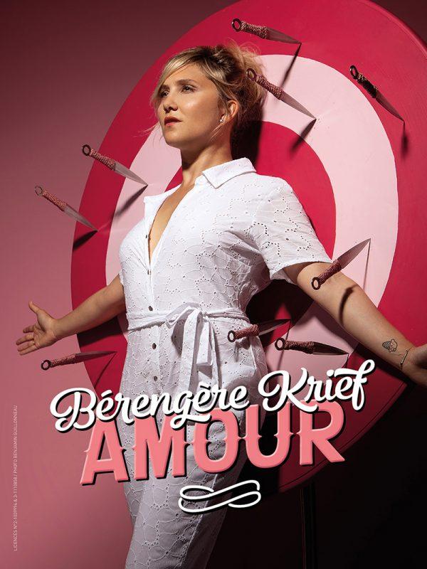 Bérengère Krief dans Amour à la Maison de la Culture de Clermont-Ferrand