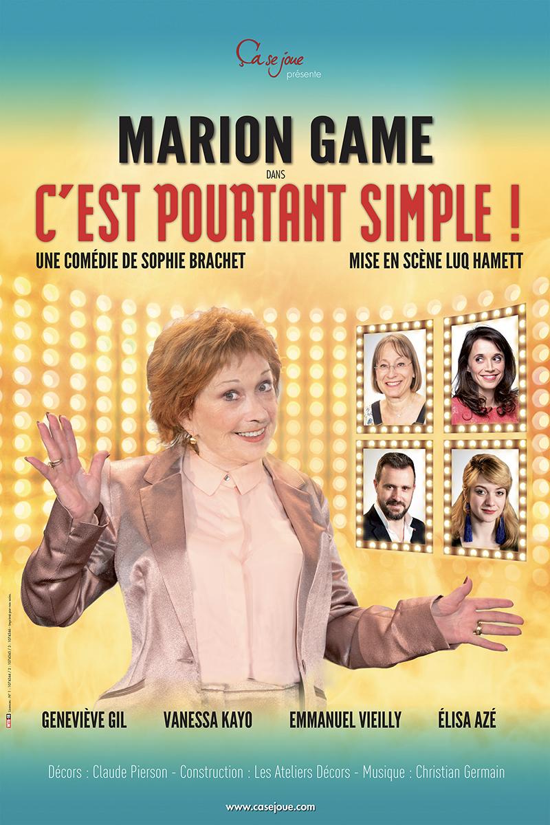 C'est pourtant simplet avec Marion Game à l'Opéra-Théâtre de Clermont-Ferrand